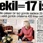 Türkiye'de 1 milletvekilinin günlük ücreti keşke sadece 17 işçinin günlük ücretine eşit olsa…