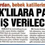 Türkiye'de halkı katleden teröristlere para ve iş verilecek!