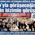 Türkiye'deki şehid aileleri: Hakkımızı helal etmiyoruz!