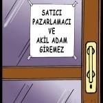 Karikatür – Türkiye halkı akil adam oyununa gelmedi