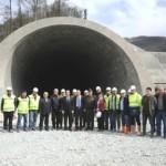 Video – Artvin Cankurtaran Tüneli'nde maaş alamayan 100 işçi iş bıraktı