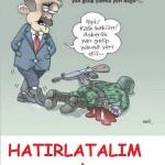 Karikatür: Askerlik yan gelip yatma yeri değildir
