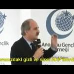 Video – Numan Kurtulmuş kendisinin gizli ve sinsi bir AKP'li olduğunu açıkladı