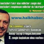 Başbakan Erdoğan dünyanın en zengin 8. Başbakanı
