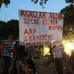 Ağaçlar Allah'a secde ediyor, ya Erdoğan kime?