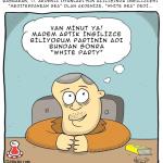 Karikatür – Ak Parti=White Party Akdeniz=White Sea