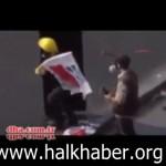 Video: Gezi Parkı olaylarında polise saldıranların polis olabileceği şüphesi