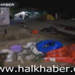 Video – Taksim'deki marjinal gruplara karanlık güçlerin sağladığı mühimmatlar ele geçirildi