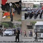 Şırnak ilinin Cizre ilçesinde PKK polis gücü kurdu, halka kimlik soruyor