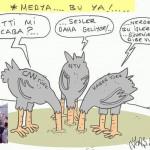 Karikatür – Türkiye medyasının gerçek yüzü tam olarak görüldü