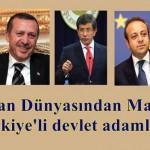 Hristiyan dünyasından madalyalı Türkiyeli devlet adamları