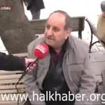 Video – Vatandaş: Halk ayaklanıp bir an önce bu Tayyip Erdoğan'ı indirmesi lazım
