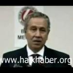 Video – Bülent Arınç ve zihniyetinin vazgeçilmez İsrail hayranlığı
