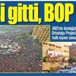 Mursi gitti, BOP çöküyor