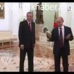 Video – Putin, Davutoğlu'nu nasıl çağırdı? Herkesi böyle mi çağırıyor?