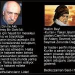 Fetullah Gülen'in Üstad Bediüzzaman Said Nursi hazretlerinin mektebi ile hiçbir alakası yoktur