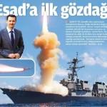 Esad'a ilk gözdağı olarak atılan füzeleri Esad düşürdü mü?