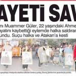 Türkiye içişleri bakanı Ahmet ATAKAN cinayetini savundu