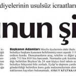 AKP'li 10 ilçe belediyesinin denetim komisyonu raporlarında çarpıcı iddialar
