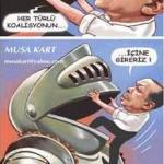Karikatür – Türkiye, Suriye karşıtı her türlü koasliyonun içine gireceğini açıkladı