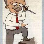Karikatür – Erdoğan: Obama'dan neyim eksik…
