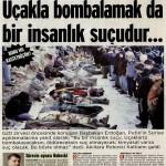 Roboski'de halkı uçaklarla bombalayanlar insanlık suçu işlemedi mi?