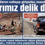 Türkiye-Suriye sınırı delik deşik olmuş