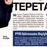 Suriye siyaseti tepetaklak olan Türkiye, PYD'ye ofis açtırıyor