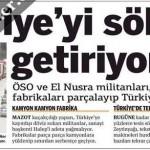 Suriye'deki teröristler Halep'teki fabrikaları parçalayıp Türkiye'de satıyor
