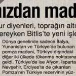 Türkiye'nin topraklarından maden fışkırıyor