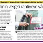 Türkiye'de halktan toplanan vergi son 10 yılda yüzde 38'den 66.2'ye fırladı