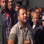 Video – Şanlıurfa'da işportacılar eylem yaptı
