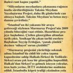 İstanbul halkının belediye başkanına mektubu…