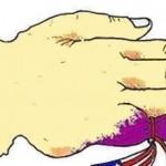 Karikatür – Parmağı değil, ipi koparmalıyız
