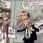 Karikatür – Aile hekimleri kendi ailelerini göremeyecek bu gidişle