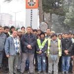 Uşak'ta Karayolları 25. Şube'ye iş yapan taşeron firmanın 56 işçisi işten atıldı