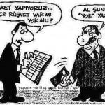 Karikatür – Rüşvet var mı?