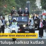 Adana'nın düşman işgalinden kurtuluşunun kutlandığı törene halk alınmadı