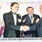 Berlusconi, Tayyip Erdoğan'ın oğlu Bilal Erdoğan'ın nikah şahidiydi