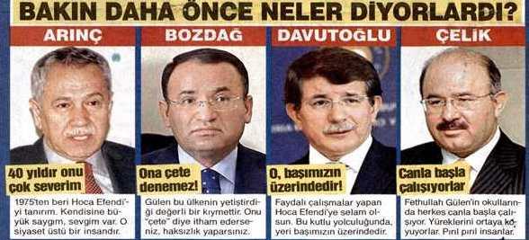 fethullah gülen tayyip erdoğan fotoğrafları ile ilgili görsel sonucu
