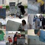Halkımız çöplerde ne arıyor acaba?