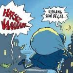 Karikatür – Hırsızı kıskanma, sende çal!