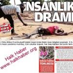 Orta Afrika Cumhuriyeti'nde insanlık dramı sürüyor