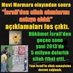 Türkiye'nin korsan İsrail'e desteği 100 kat arttı