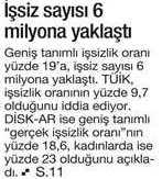 issiz-sayisi-6milyon