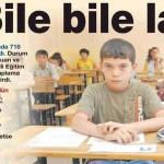 1 milyon 112 bin öğrencinin hakkını yiyor, kafasını karıştırıyorlar!