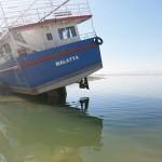 Foto – Yüzemeyen Malatya Gemisi'nin arka planındaki peşkeş hikayesi…