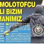 MİT: Molotofçu PKK'lı bizim elemanımız