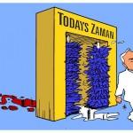 Karikatür – TODAY'S ZAMAN tarihin en vahşi canavarını temize çıkarma gayretine girişti