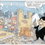Karikatür – Türkiye evlerinden ettiği Suriyelilere savaş ortamını unutturmuyor